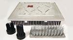 Die HDDC-Technologie von Aavid Thermalloy eignet sich für die Fertigung leistungsfähiger Kühlkörper und flüssigkeitsgekühlter Cold Plates auf Basis von Aluminiumlegierungen
