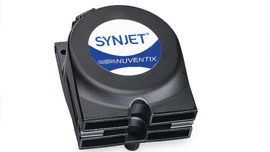 Bild 2. Beispiel für einen Nuventix-SynJet-Cooler von Aavid Thermalloy.