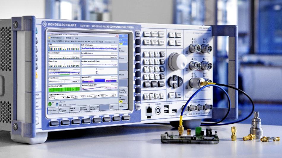 Mit einer neuen Option können die R&S CMW-Geräte für den Test von Bluetooth-Verbindungen verwendet werden.