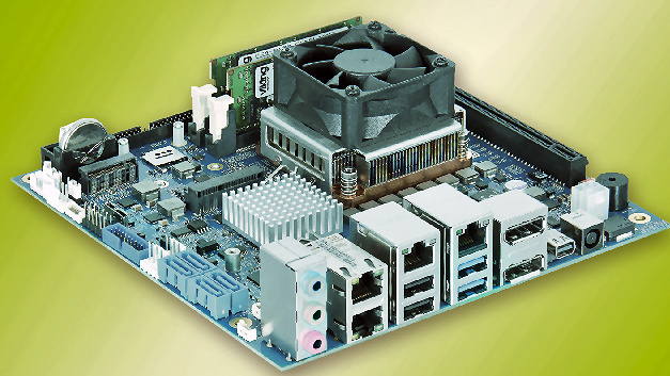 Kontron Embedded mITX Desktop Motherboard