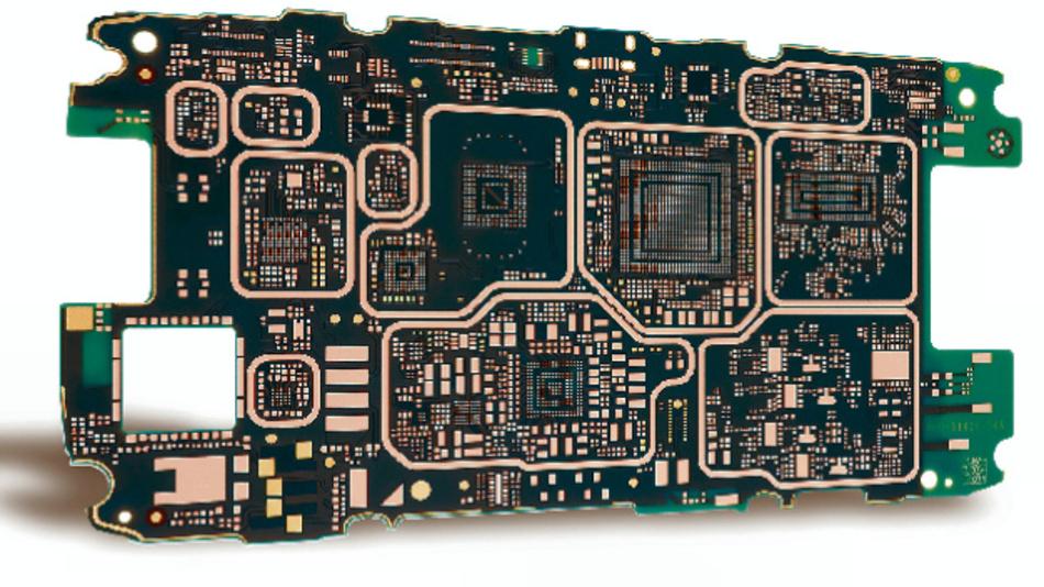 Beispiel für HDI-Board