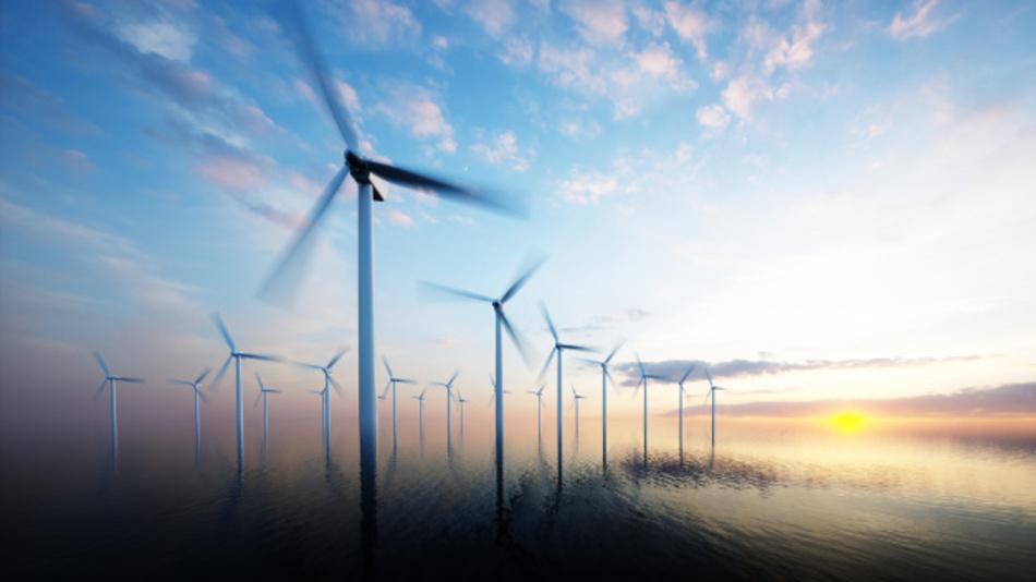 Die Stromerzeugung aus Wind offshore ist 2016 erheblich gestiegen.