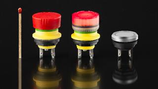 Auch bei Schaltern und Tasten tut sich einiges, wie die Not-Halt-Tasten und Drucktaster der Serie »mYnitron« von Schlegel Elektrokontakt zeigen.