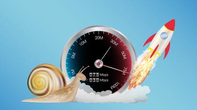 Internet Geschwindigkeit