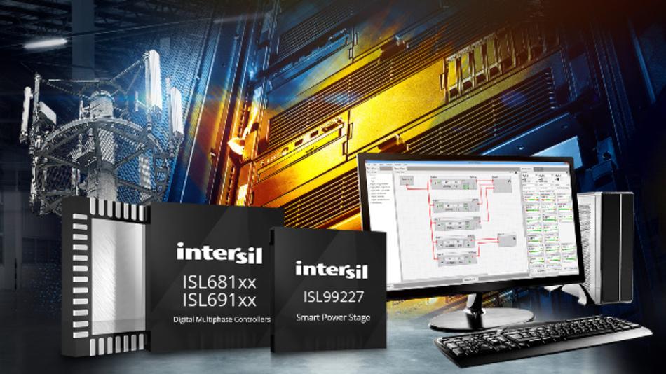 Digitale Mehrphasen-PWM-Controller mit AVSBus und synthetischer Stromregelung.