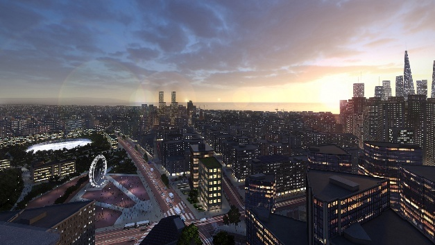 Ob Groß- oder Kleinstadt - das Lichtmanagementsystem Philips CityTouch ist auf die individuellen Anforderungen skalierbar.