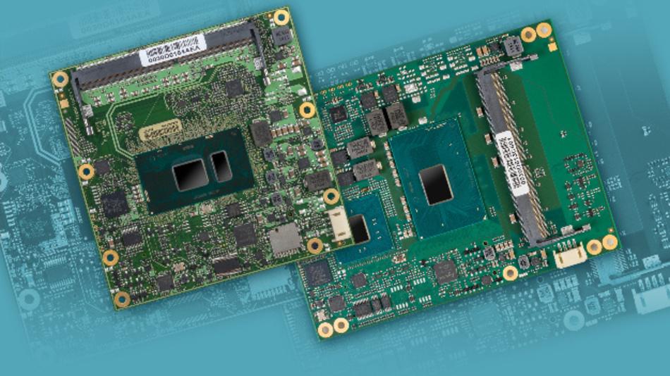 Type 6 COM Express-Modulfamilien  MSC C6C-KLU und MSC C6B-KLH