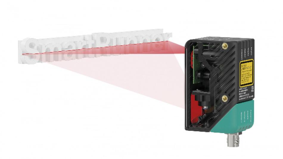 Die »Smart-Runner«-Geräte von Pepperl+Fuchs bieten sowohl einen 3D-Lichtschnittsensor als auch einen 2D-Vision-Sensor.