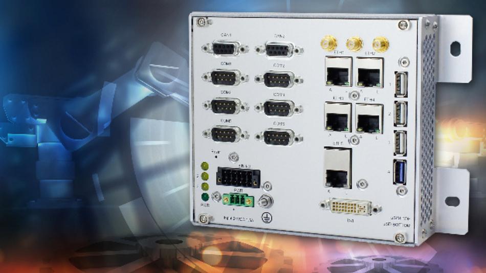 Klein und stromsparend: Box PC für IoT in der Industrie-Automation.