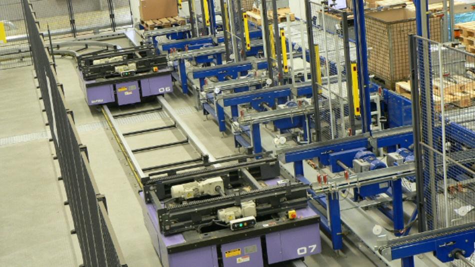 Für Transportsysteme in der Industrie können grafische Materialflussrechner gute Dienste leisten.