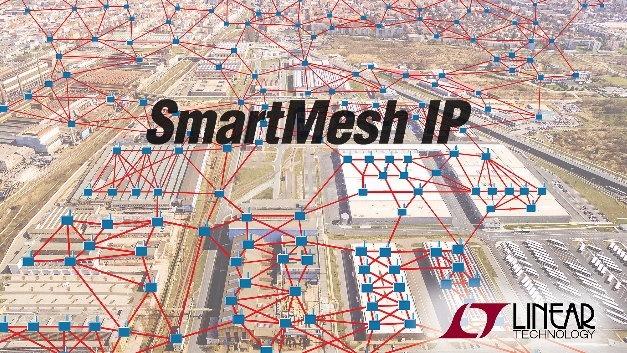 Das auf 6LoWPAN basierende SmartMesh IP bietet die gleiche Zuverlässigkeit wie drahtgebundene Netzwerke und ermöglicht Mesh-Funknetze mit ultrageringem Energiebedarf.