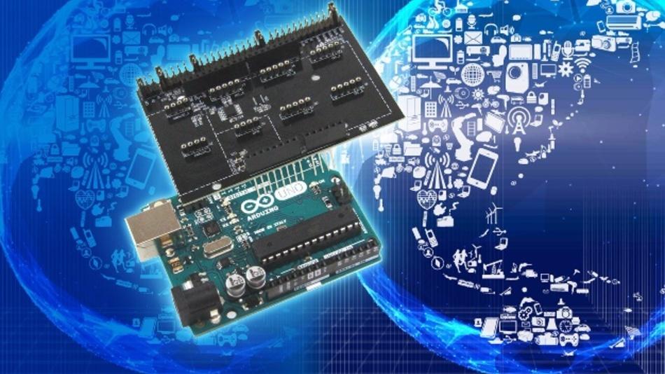 Das Zusammenführen mehrerer Sensoren in einer Testumgebung erleichtert Prototyping und Ersteinrichtung