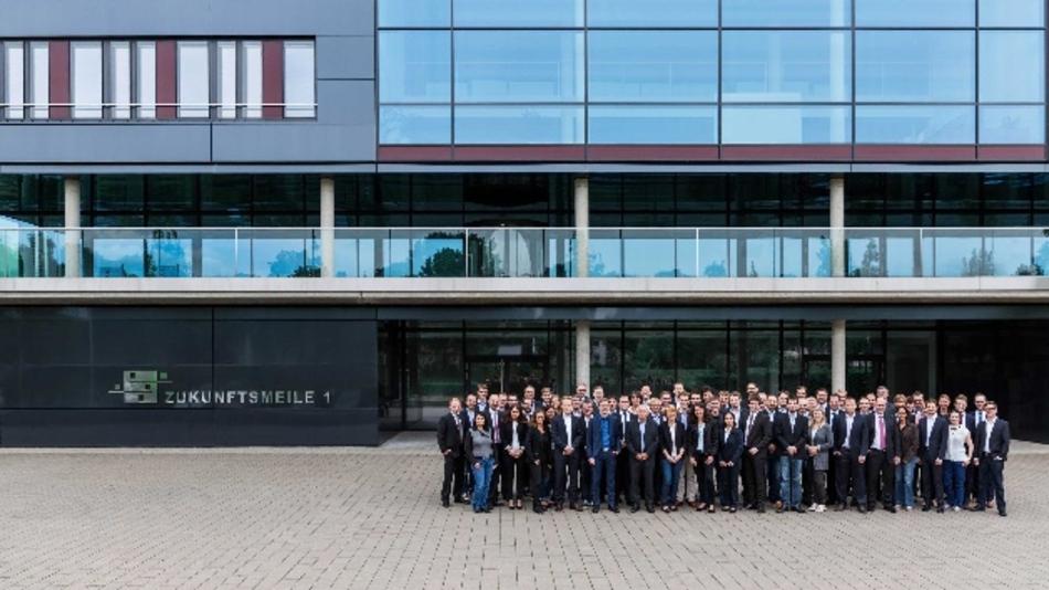 In die Zukunftsmeile in Paderborn zieht das neue Fraunhofer IEM ein. Nach 20 Jahren bekommt NRW wieder ein Fraunhofer-Institut.