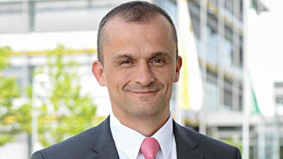 Seit 1.1.17 im Vorstand von Schaeffler: Co-CEO Matthias Zink.