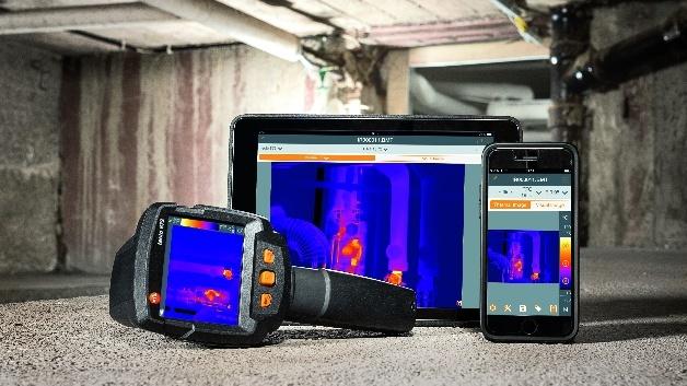 Für nahezu jede Anwendung in Industrie und Handwerk einsetzbar: die neuen Wärmebildkameras von Testo.