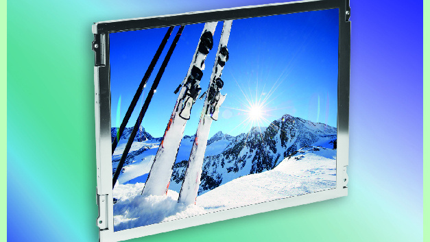 "19,0"" LED TFT-Display"