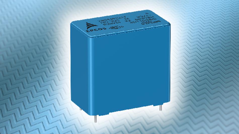 Eine Serie robuster EPCOS-MKP-X2-Kondensatoren