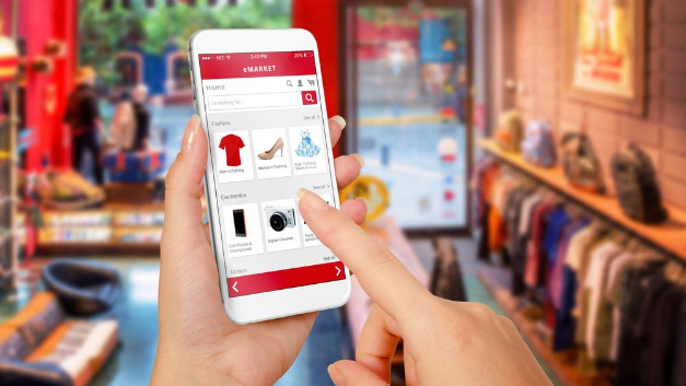 Einkaufstechnologie.