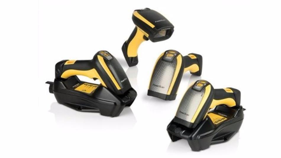 Robust und handlich: die Laserscanner der Serie PowerScan 9300 von Datalogic