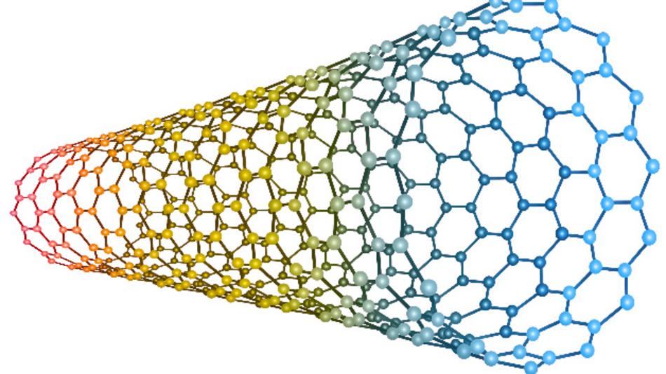 Die Carbone-Nanotubes von Nantero sind 50 mal stärker als Stahl und mit einem Durchmesser von 2 nm nur 1/50.000 so groß wie ein menschliches Haar