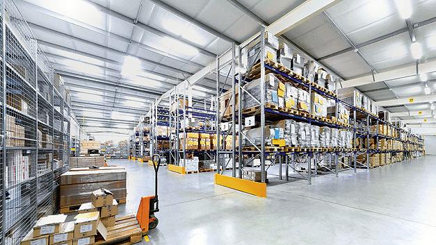 Aufbau einer kostengünstigen Fertigungsanlage.