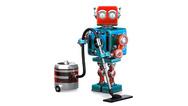 Roboter mit Staubsauger