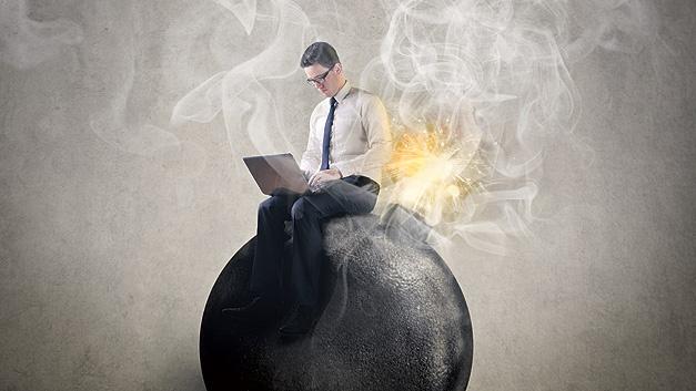 Es kann fatal sein, den sicheren Arbeitsbereich zu vernachlässigen.