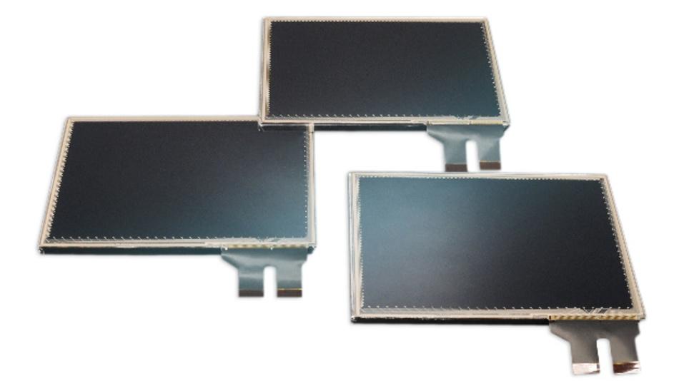 Chomerics' CHO-TOUCH-LCD-Familie mit Diagonalen von 4,3 bis 12,1 Zoll gibt es mit PCAP- und analog-resistiver Touch-Technik.