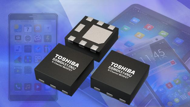 Zwei neue n-Kanal-MOSFETs für kompakte Mobilgeräte.