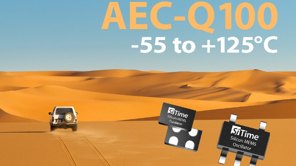 Gemäß AEC-Q100 qualifizierte MEMS-Oszillatoren