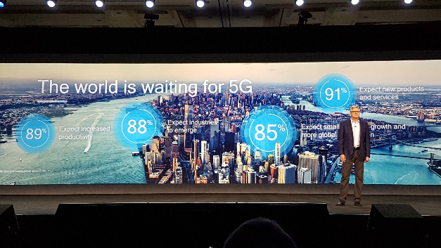 Steve Mollenkopf: »Die Welt wartet auf 5G« und vor allem die damit verbundenen neuen Services.