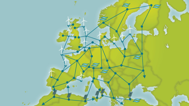 Das HGÜ-Supergrid bildet laut Pierre Bernard, CEO und Chairman of the Board von »Friends of the Supergrid« ein wichtiges Element für die Versorgung Europas mit sauberer Energie.