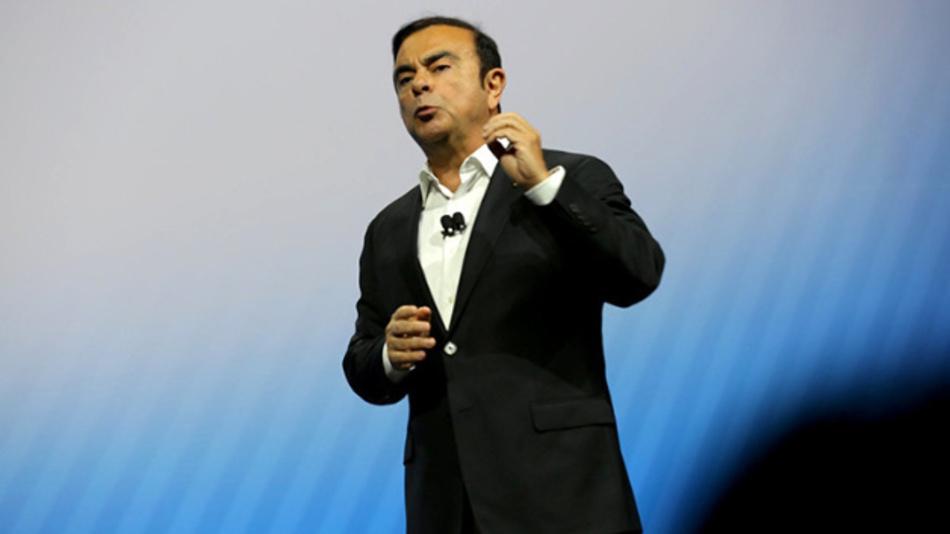 Den Keynote-Part für die Automobilindustrie auf der CES 2017 übernahm Carlos Ghosn, in Personalunion Chef von Renault und Nissan.
