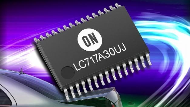 Kapazitäts-Digital-Wandler LC717A30UJ.