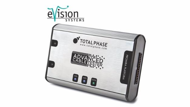 USB Typ-C Kabeltester von Total Phase.