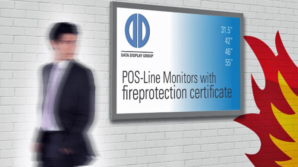 Beim Erreichen kritischer Temperaturen trennt die Thermosicherung Distecs Monitore der »POS-Line BLO«-Familie von der Stromversorgung.