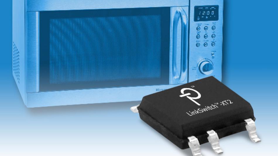 Die LinkSwitch-XT2-Familie eignen sich für Kleinleistungsanwendungen wie zum Beispiel Mikrowellen.