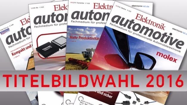 Die Elektronik automotive wollte wissen: Welches Motiv hat die Leser im vergangenen Jahr am meisten begeistert?