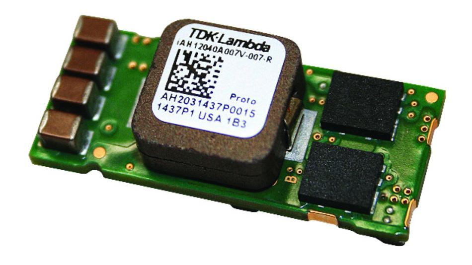 Die DC/DC-Wandler der iAH-Serie von TDK-Lambda hat einen Wirkungsgrad von bis zu 96 %.