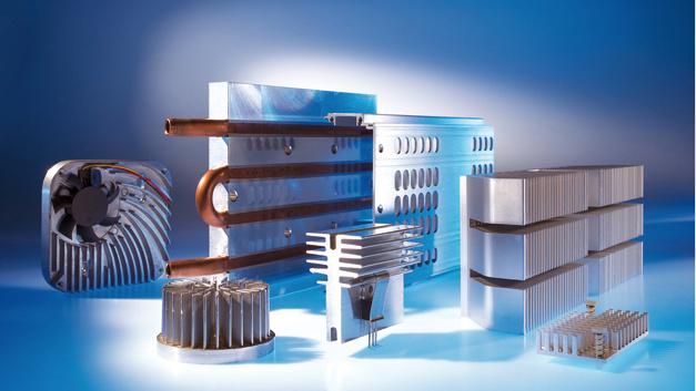 Neben Gehäusen für Elektronikbauteile umfasst das CTX-Portfolio applikationsspezifische Kühllösungen für die unterschiedlichsten Branchen.