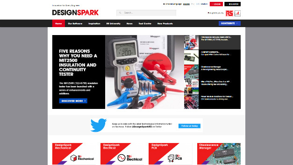 Die Werkzeugsammlung DesignSpark erhielt einen Obsolescence Manager (rechts)