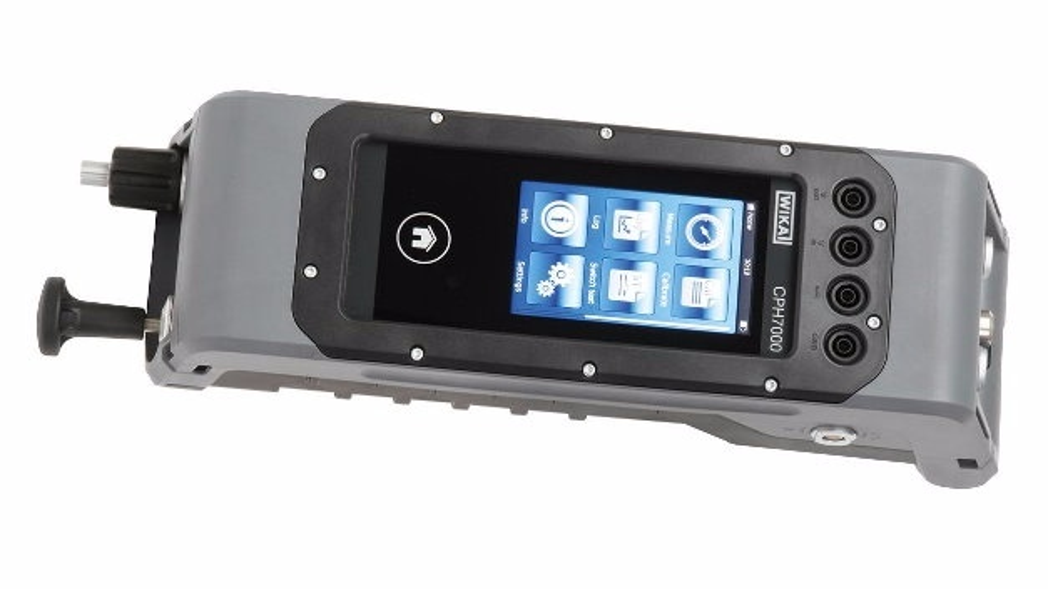 Portables Multifunktionsgerät: Der Prozesskalibrator CPH7000 von WIKA