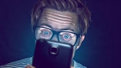 Smartphone Überraschung