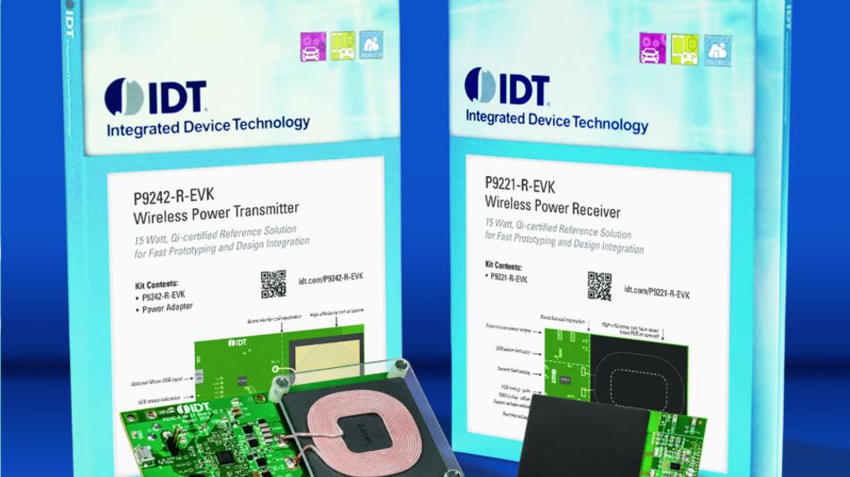 Die neuen Wireless-Prototype-Kits von IDT sind zertifiziert nach WPC Qi 1.2.2