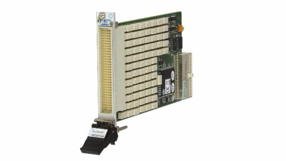 In 20 verschiedenen Konfigurationen verfügbar - die neuen PXI-Multiplexer von Pickering Interfaces.