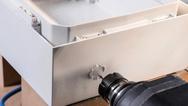 Schaltschränke der Baureihe »ARCA IEC« sind leicht zu bearbeiten.