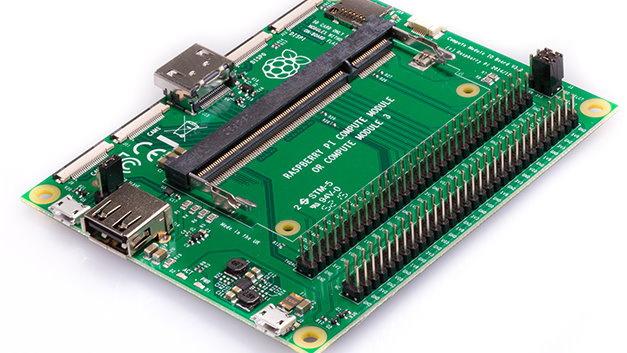 Das Compute Module IO Board V3