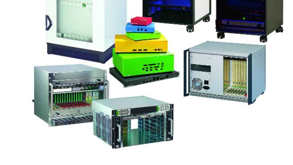 Einen hohen Grad an Modifikationsmöglichkeiten bieten Pentairs 19-Zoll-Standardgehäuse.