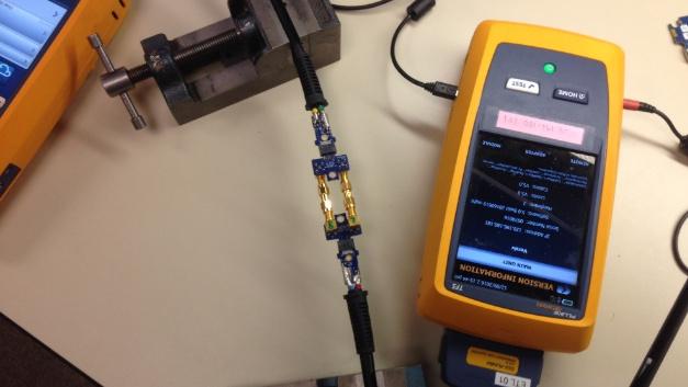 Der DSX-8000 von Fluke Networks ist das erste für Kategorie 8 zertifizierte Messgerät für den Feldeinsatz.