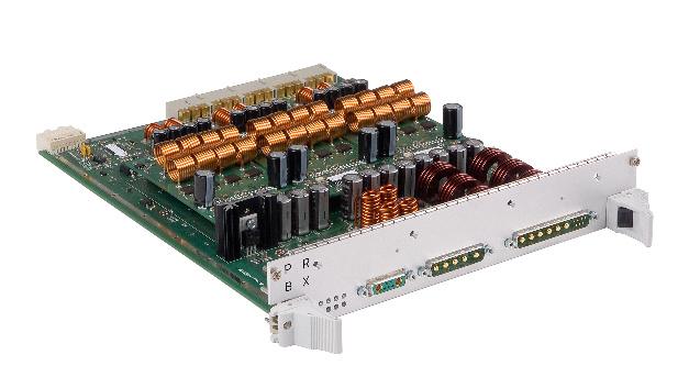 Dreiphasige kernlose Netzteile nutzen drei GB350 Module, um damit auch Anwendungen mit höherem Leistungsbedarf versorgen zu können.
